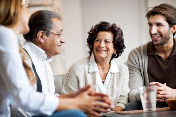 Family Meeting abotu Senior Living